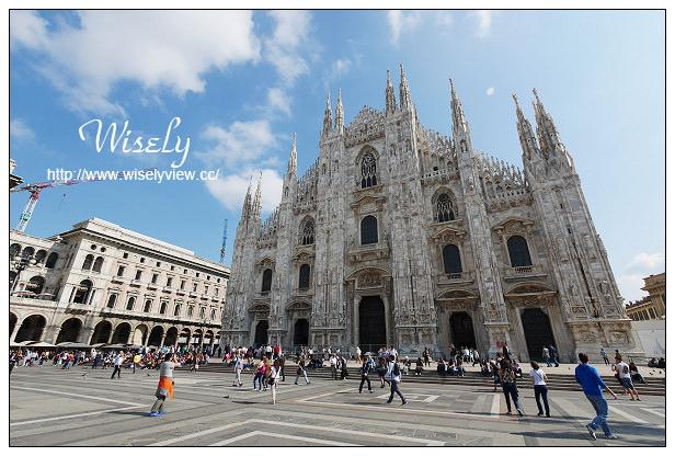义大利旅游-05:米兰景点@米兰大教堂,维托艾曼纽二世拱廊