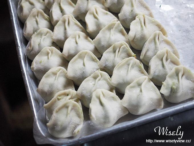 【食記】台北中正。捷運東門站:東門市場美食@沅誠海鮮水餃(限外帶)~飽滿紮實好吃