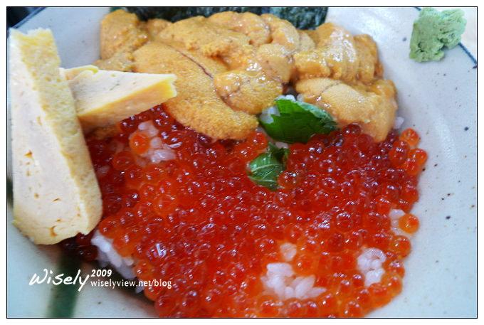 【食記】台北.景美夜市:竹壽司之這是什麼丼 (海膽鮭魚卵蓋飯)