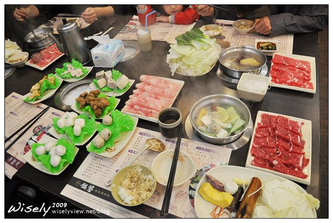 【家聚】吳大一家四口聚餐:大直鍋饕涮涮鍋