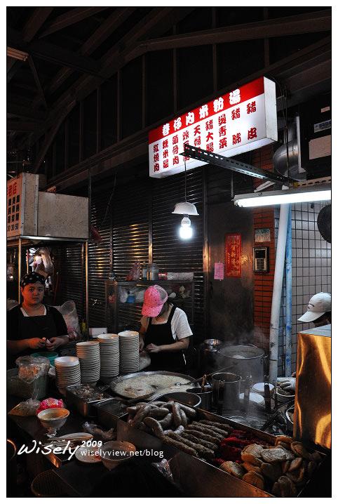 【食記】台北.景美夜市 巷仔內米粉湯