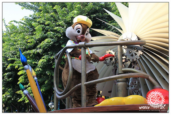 【旅遊】2010 中國.香港:迪士尼樂園.歡樂花車巡遊表演 Day2-1