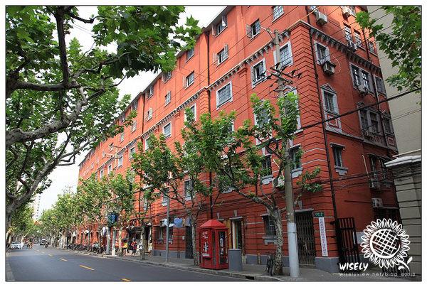 【旅遊】2010 中國.上海:長鹿路紅磚房、淮海中路、法租界老公寓 -09