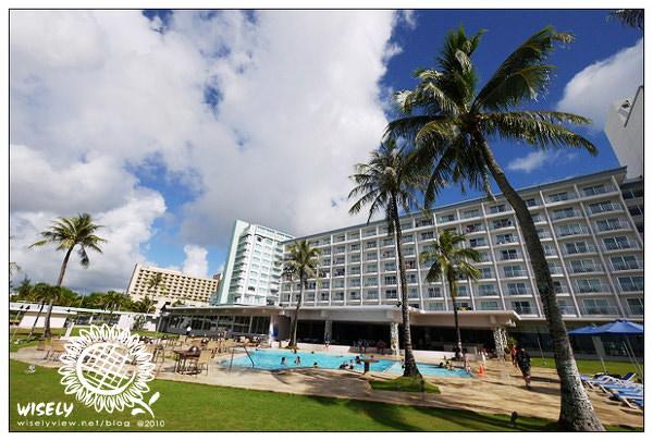 【旅遊】2010美國.關島:FIESTA 悅泰飯店 (美麗海灘的日景與夕照) –07