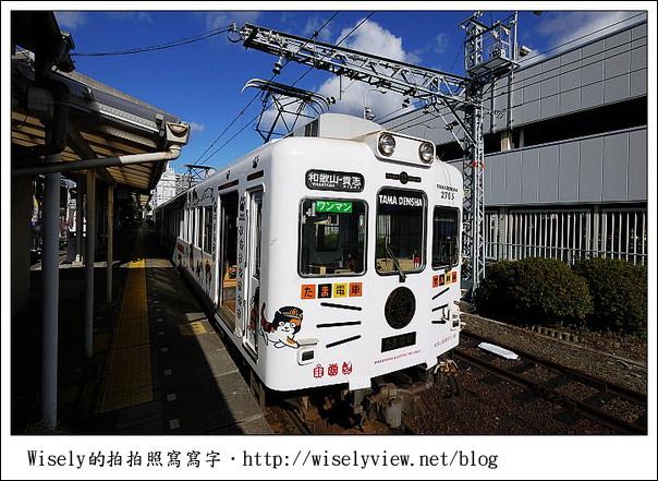 【旅行】2011日本‧大阪:和歌山電鐵貴志站、貓咪電車、小玉駅長