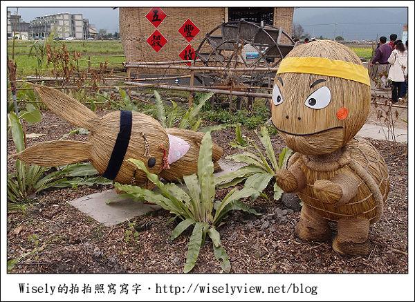 【新年】2011宜蘭.年初二:三星鄉銀柳節&稻草編織作品(XZ1隨手拍)