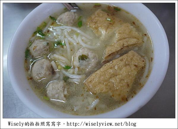 【食記】宜蘭.員山:陳茂庚魚丸米粉
