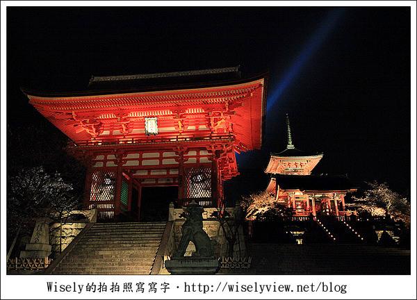 【隨拍】2011關西(京阪神)-11:京都清水寺夜間參拜&夜櫻留影 (Canon EOS 5D2)