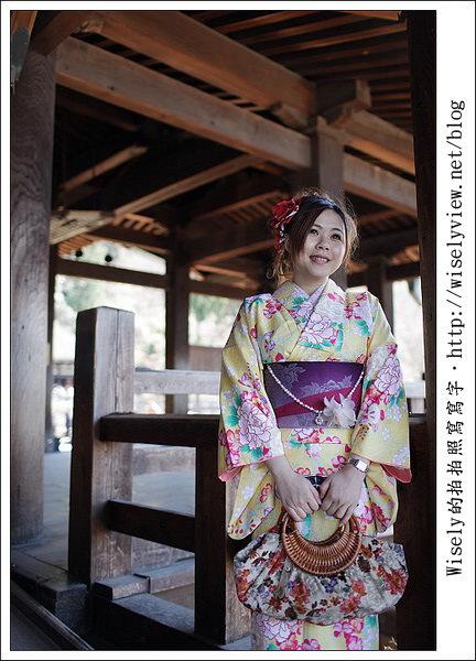 【旅行】2011關西(京阪神)-16:京都小麥和服外拍-清水寺.伏見稻荷.醍醐寺 (Canon EOS 5D2)