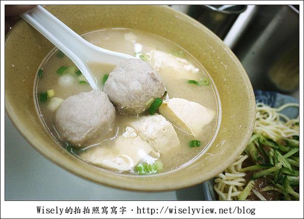 【食記】新北市.新店區:老孫涼麵 (加蘿蔔乾提味,以及滷豬腳特別菜)