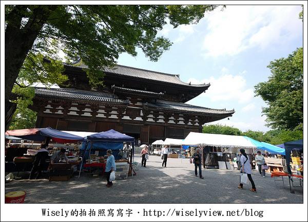 【旅行】2011關西(京阪神)-20:笹屋伊織和菓子名店(銅鑼燒)、東寺弘法市集(每月21日)