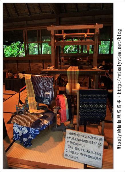 【旅行】2011(日本)沖繩-11:古老文化主題公園-沖繩琉球村,一名讓我難忘的老婆婆