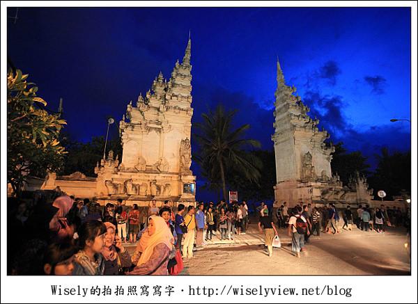 【旅行】2011(印尼)峇里島-18:庫塔區市中心隨手拍(Kuta Beach旁),採買逛街的好去處