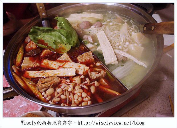 【食記】台北市‧大安區:橋頭麻辣鴛鴦火鍋~價高但美味最好揪團去吃肉