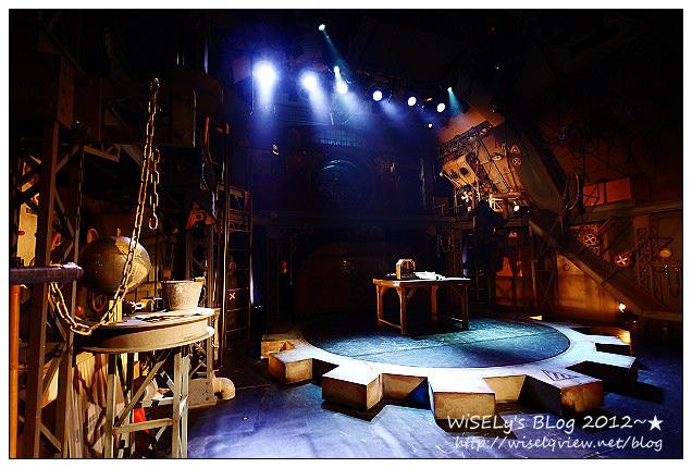 【旅行】2011日本.京都:有趣的聲光多重表演舞台劇~ギア(齒輪)-GEAR