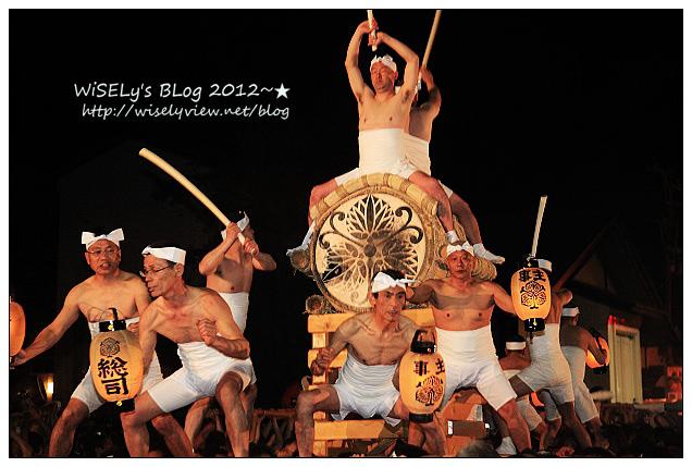 【旅行】2012日本.岐阜:飛驒古川祭之夜,數百名壯丁白布包纏裸男上陣!(含現場實錄影片)