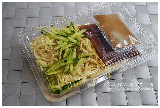 【食記】宅配.趙舜涼麵@夏天美味的王道~味道香濃麵條Q,滿20盒台北可外送