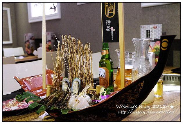 【美食】台北市.大安區:野宴極燒肉(台北SOGO旗艦店)@啤酒燒肉放題吃到飽,裝潢水晶吊燈閃亮亮