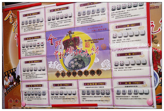 【活動】離島.金門縣:2012金門中秋博狀元餅@預卜考運試手氣的民俗娛樂活動,讓300年歷史民俗再重現