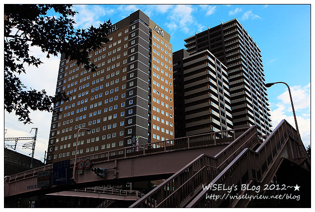 【旅行】2012日本.宮城縣:仙台市住宿@APA VILLA HOTEL(仙台站五橋)~鄰近車站購物很方便
