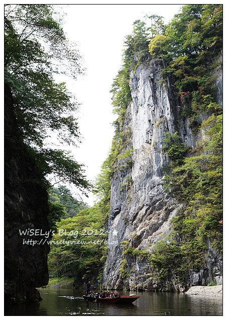 【旅行】2012日本.岩手縣:一關市景點@猊鼻溪峽谷行~乘輕舟聽船歌,品嚐鮮美香魚餐