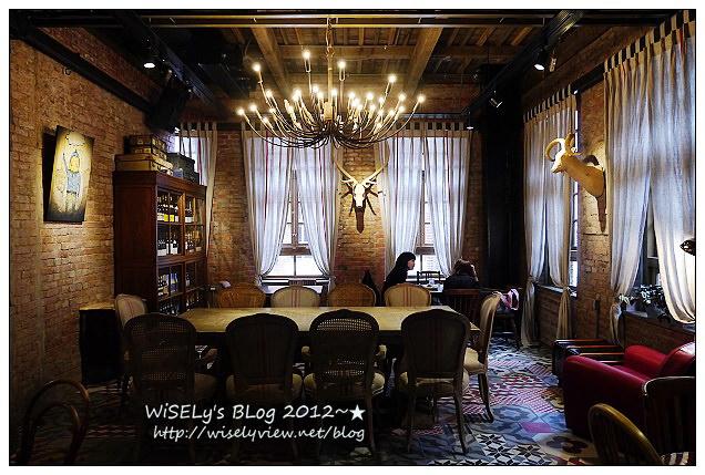 【景點】台北市.華山文創園區:好樣思維@紅磚六合院C棟~復古咖啡特色店(好樣VVG)