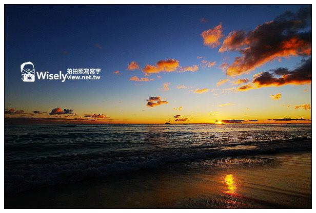 【旅行】2013美國。夏威夷:檀香山(歐胡島)特色景點@威基基海灘(Waikiki Beach)~沙灘夕陽、衝浪比基尼