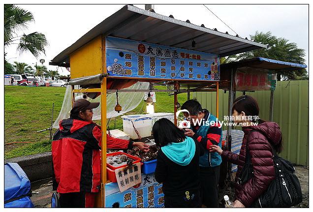 【食記】宜蘭縣。頭城鎮:大溪漁港景點@昭洋海產行、益旺小吃、吳家魚丸、魩仔魚蔥油餅&現剝海膽