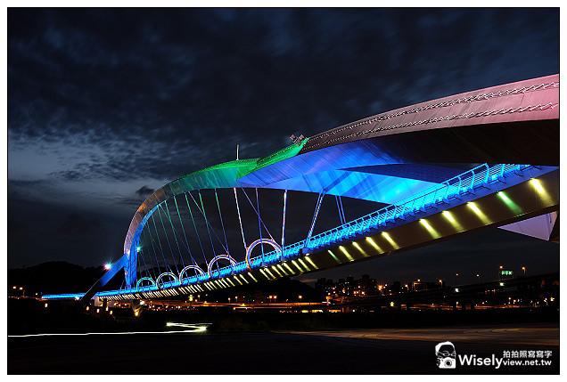 【景點】新北市。新店區:陽光運動公園@光雕陽光橋~Fujifilm FinePix X100s