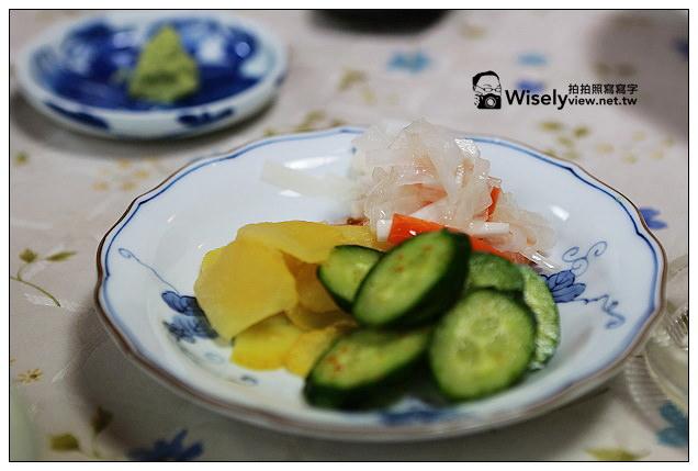 【旅行】2013日本北陸。富山縣冰見市:富山灣鮨@氷見おてもと川喜日本料理~特色料理