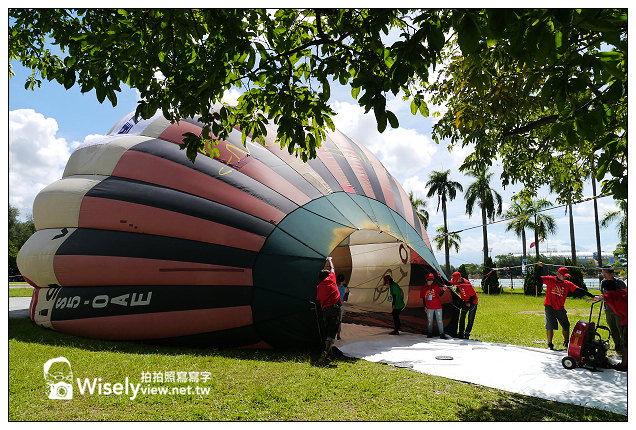 【遊記】高雄市。鳥松區:2013高雄起飛城市熱氣球嘉年華@澄清湖九曲橋、菲力貓熱氣球升空