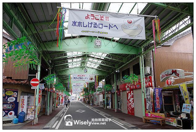 【旅行】2013日本。鳥取縣:水木茂之路@境港市裡著名的鬼太郎妖怪世界~還有列車與神社