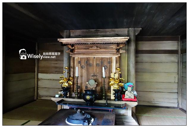 【旅行】2013日本。鳥取縣:若櫻町-不動院岩屋堂@岩窟裡的不動明王神社