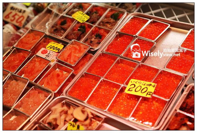 【旅行】日本。青森縣:青森市古川市場@食材隨你加的海鮮蓋飯(のっけ丼)