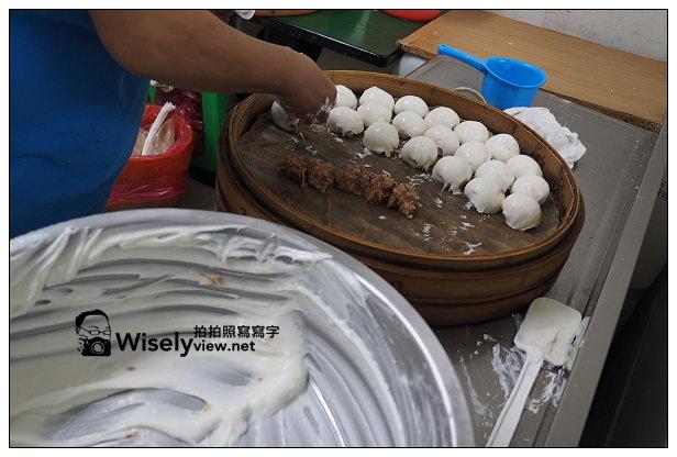 【食記】台北市。士林區:真味(清蒸)肉圓@美崙街美食,肉粽與四神湯也好吃