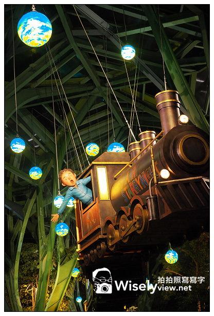 宜蘭景點。丟丟噹森林公園︱幾米星空列車&長頸鹿車站~宜蘭火車站前的「星空車站」夜間版