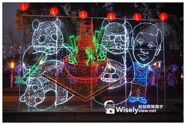 【遊記】2014台北燈節:飛躍阿駿@中山北路幸福台北燈海&花博圓山、美術公園~活動至2/16