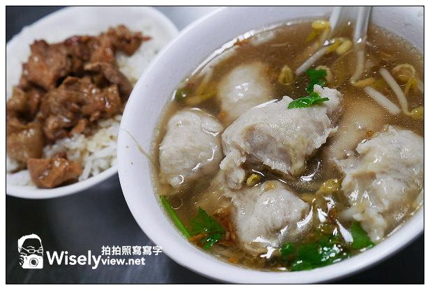 【食記】台北市。北投區:漢奇肉羹店@老字號的特色銅板美食,近捷運北投站