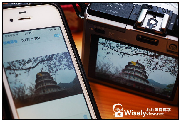 【分享】3C。廣穎電通:32GB WiFi Sky Share S10記憶卡@Lumix GX1拍攝無線傳輸