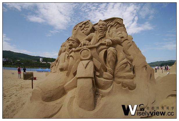 【遊記】新北市。貢寮區:2014福隆國際沙雕藝術季5/3~6/30@福隆遊客中心&台灣好行福隆線