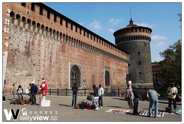 【旅行】歐洲。義大利旅遊-03:米蘭景點@史豐哲要塞(Castello Sforzesco)/斯福爾扎城堡