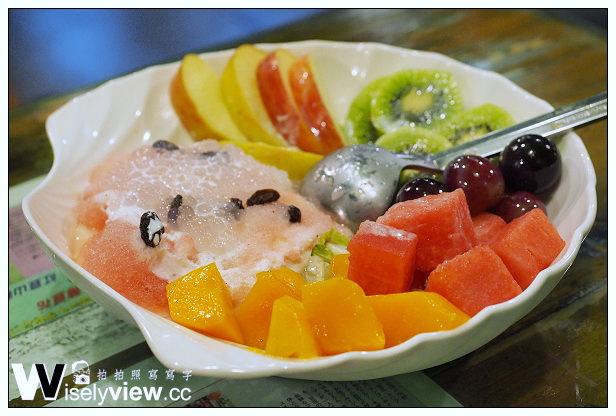 【食記】台北市。大安區:越娘騷豆花(二店)@結合台灣水果與西米露豆花的美味冰品