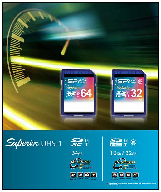 【分享】3C。SP廣穎電通:Superior UHS-1 SDXC SD記憶卡@64GB R/W 85/40