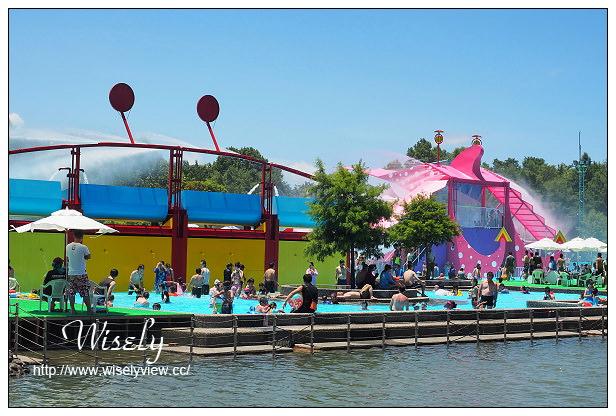 【遊記】宜蘭縣。五結鄉:冬山河親水公園@2014宜蘭國際童玩藝術節(7/5-8/24),含交通資訊