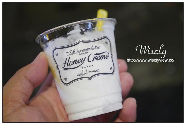 【食記】台北市。大安區:東區美食@Honey Crème(蜂巢冰淇淋)~來自韓國的特色口味