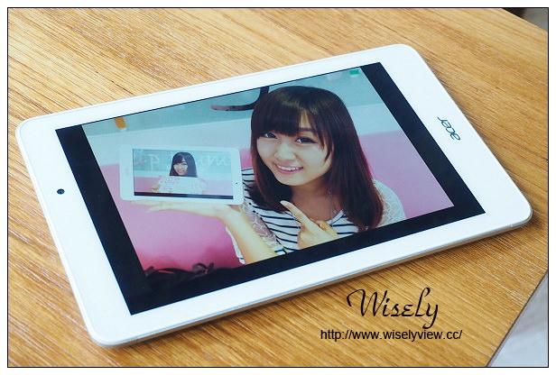 【開箱】平板。Acer Iconia Tab 8 A1-840FHD@平價輕薄高質感,採8吋Full HD四核心規格