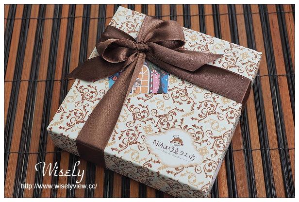 【網購】清境。NINA巧克力工坊:70%厄瓜多爾生巧克力、手工單品巧克力@香氣濃度一流