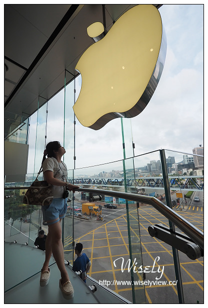 【旅行】香港。中環:IFC Mall & Hong Kong Apple Store@果粉來港必定朝聖之地