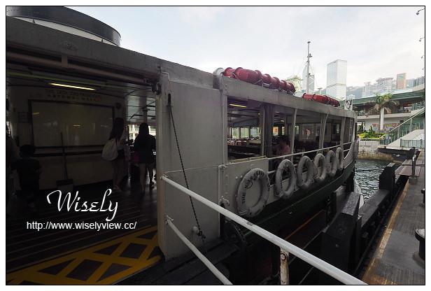 【旅行】香港。中環:天星碼頭、天星小輪@來回中環與尖沙咀的特色交通工具