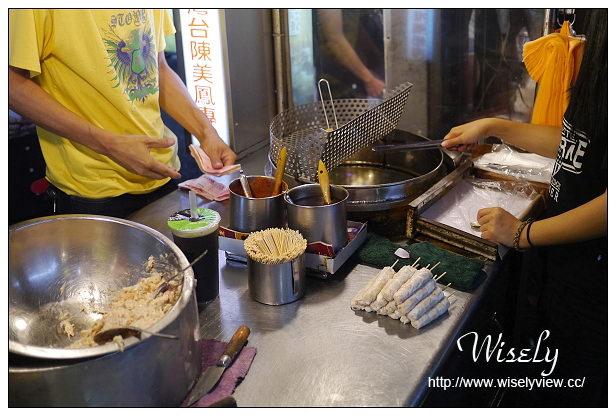 【食記】宜蘭縣。羅東鎮:羅東夜市@華記龍鳳腿、玉本鋪三星蔥餅、阿雪果汁吧、烤肉風味